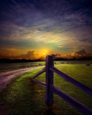 Passing Poster by Phil Koch