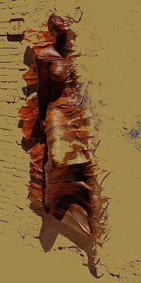 Passing Through Poster by David Pryke
