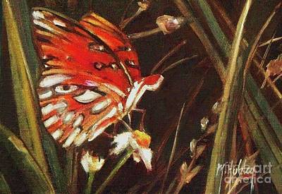 Passion Butterfly - Gulf Fritillary Poster