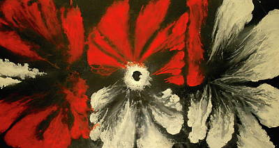 Passion Flower Poster by Faga Art