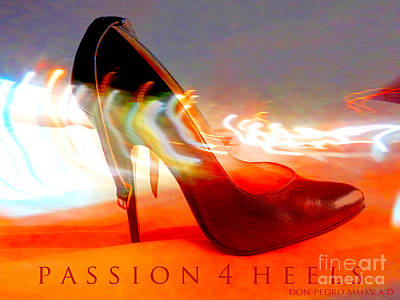 Poster featuring the photograph Passion For Heels by Don Pedro De Gracia