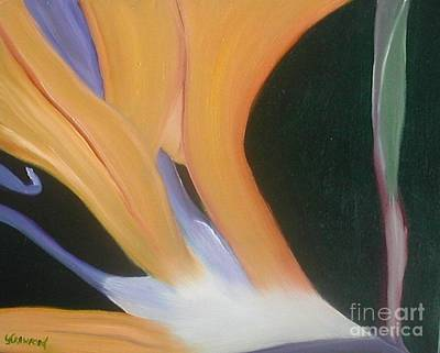 Poster featuring the painting Passion Unfolding 2 by Lori Jacobus-Crawford