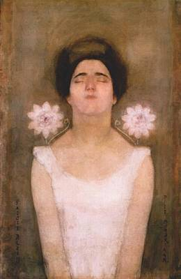 Passionflower Poster by Piet Mondrian
