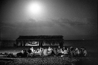 Passover Night In Sinai By Moonlight Poster