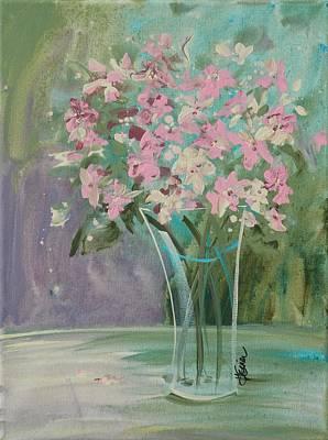 Pastel Blooms Poster