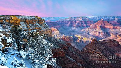 Pastel Canyon Poster