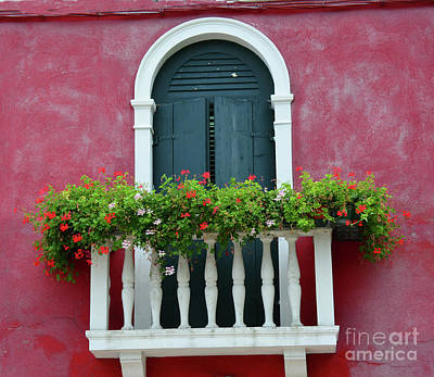 Pastel Colors Of Burano  Poster