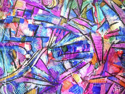 Pastel Kaleidoscope Poster