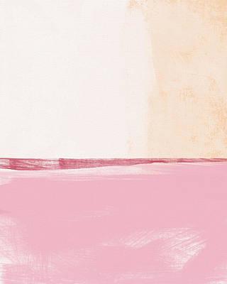 Pastel Landscape Poster by Linda Woods