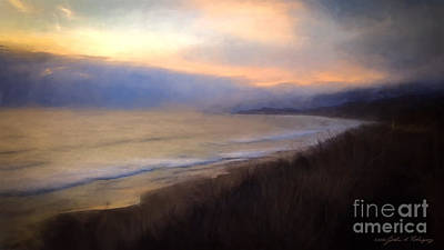 Pastel Sunset Poster by John A Rodriguez