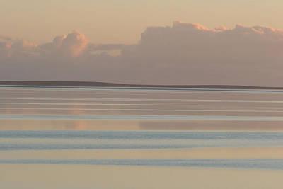 Pastel Sunset Sea Original Poster