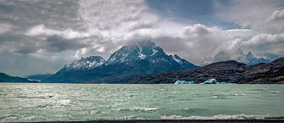 Poster featuring the photograph Patagonia Lake by Andrew Matwijec