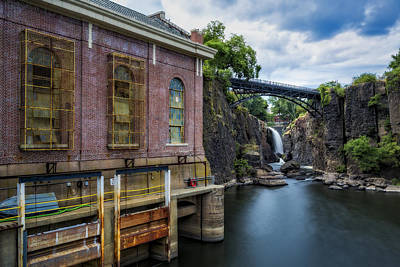 Paterson Great Falls II Poster