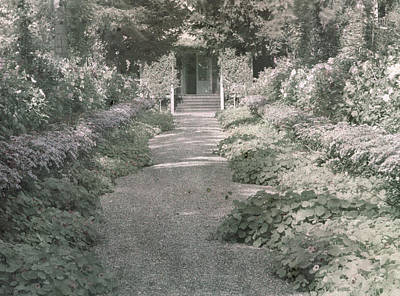 Path In Monet's Garden At Giverny Poster