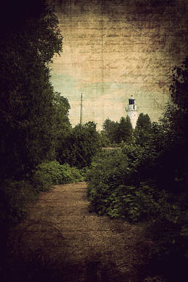Path To Cana Island Lighthouse Poster