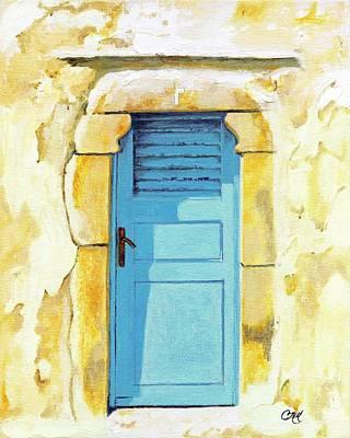 Patmos Door Poster