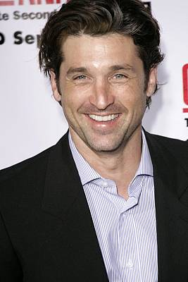 Patrick Dempsey At Arrivals For Greys Poster by Everett