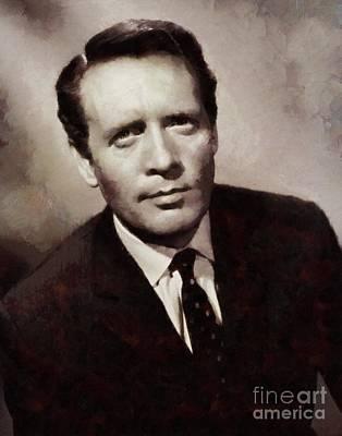 Patrick Mcgoohan, Vintage Actor Poster