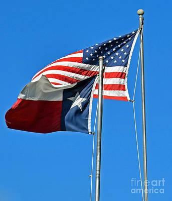 Patriot Proud Texan  Poster