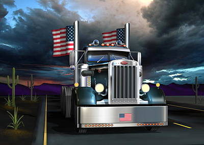 Patriotic Pete Poster