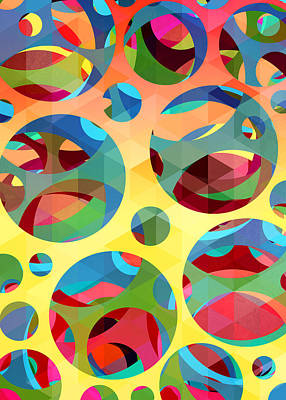 Pattern 3 Poster by Mark Ashkenazi