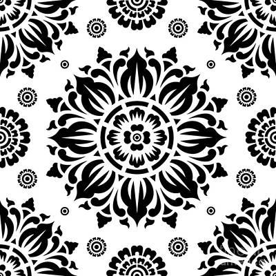 Pattern Art 01-2 Poster