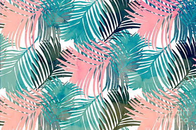 Pattern Jungle Poster