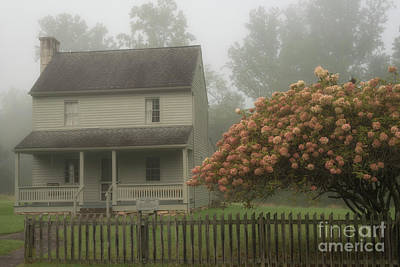 Patterson House And Fog Poster