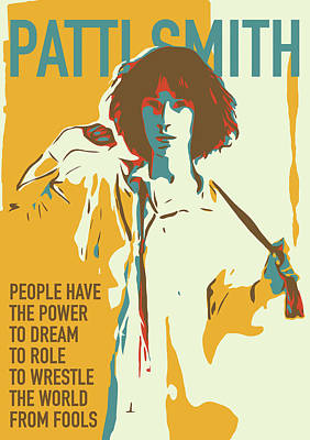 Patti Smith Poster by Greatom London