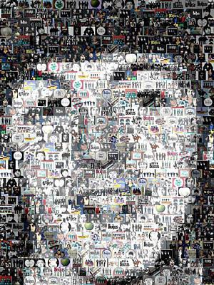 Paul Mccartney Beatles Mosaic Poster