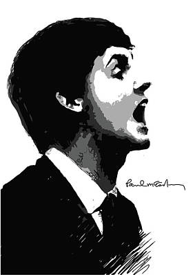 Paul Mccartney Poster by Unknown