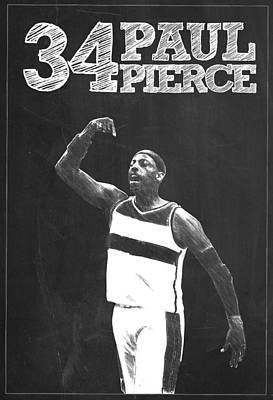 Paul Pierce Poster by Semih Yurdabak