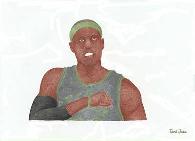 Paul Pierce  Poster by Toni Jaso