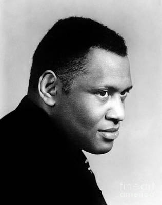 Poster featuring the photograph Paul Robeson by Granger