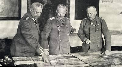 Paul Von Hindenburg, 1847-1934. General Poster by Vintage Design Pics