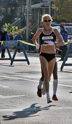 Paula Radcliffe Nyc Marathon Poster