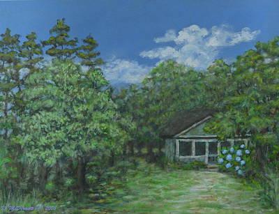 Pawleys Island Blue Poster by Kathleen McDermott