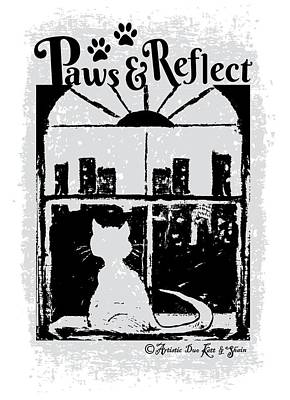 Paws And Reflect Poster