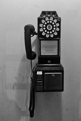 Poster featuring the photograph Pay Phone by Bradford Martin
