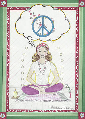 Peace Meditation Poster