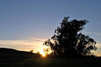 Poster featuring the photograph Peaceful Country Sunset  by Matt Harang