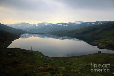 Peaceful Norwegian Lake Poster by Carol Groenen