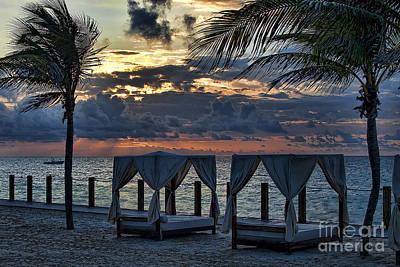 Peaceful Playa Poster