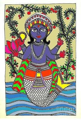 Matsya An Avatar Of Hundi God Vishnu  Poster by Sketchii Studio