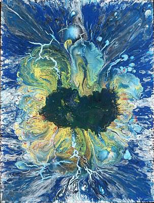 Peacock Nebula Poster