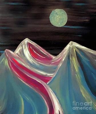 Peaks Of Solitude Poster by Jilian Cramb - AMothersFineArt