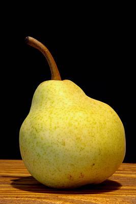 Pear Still Life Poster by Frank Tschakert
