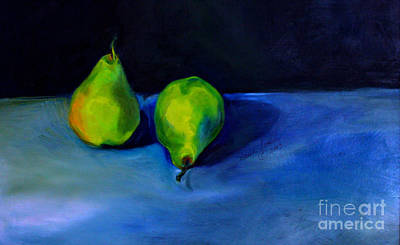 Pears Space Between Poster by Daun Soden-Greene