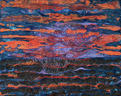 Pebeo After The Sunset Poster by Patricia Beebe