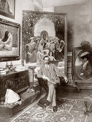 Pedro S Enz S Enz, 1863 - 1927 Poster